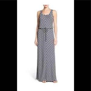 NWT Caslon maxi dress XS Nordstrom striped